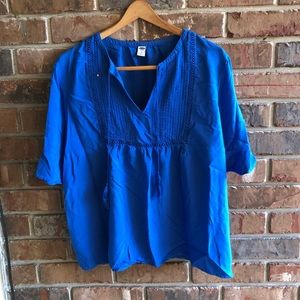 Old Navy | Royal Blue Blouse